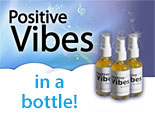 Positive Vibes in a Bottle