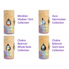 Sound Essence Collection of 28-15 ml bottles in wooden cylinders