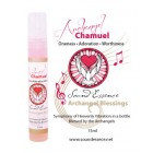 Archangel Chamuel Blessing - 15ml bottle on a display card