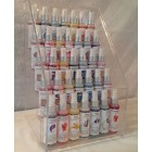 Sound Essence Collection of 35 - 60 ml bottles with an acrylic display stand