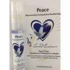 Heart Tones - Peace - 15ml bottle on a display card