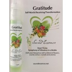 Heart Tones - Gratitude - 15ml bottle on a display card