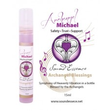 Archangel Michael Blessing - 15ml bottle on a display card