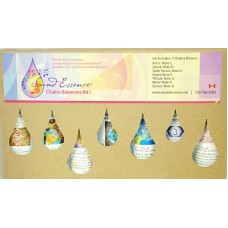 Chakra Whole Note Balancer set of 7- 60 ml bottles in a cardboard box