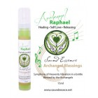 Archangel Raphael Blessing - 15ml bottle on a display card