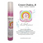 Crown Chakra note B - Chakra Balancer - 15ml bottle on a display card