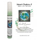 Heart Chakra note F - Chakra Balancer - 15ml bottle on a display card