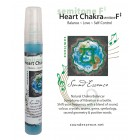 Heart Chakra semitone F# -  Chakra Balancer - 15ml  bottle on a display card
