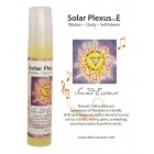 Solar Plexus Chakra note E - Chakra Balancer - 15ml  bottle on a display card